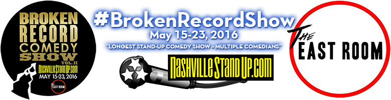 #BrokenRecordShow vol. 2 - May 15-25, 2016 at The East Room - Nashville, TN