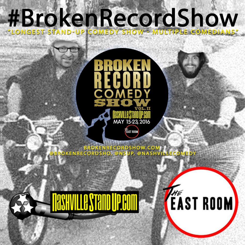 #BrokenRecordShow 2016