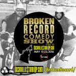 #BrokenRecordShow 2016 promo image