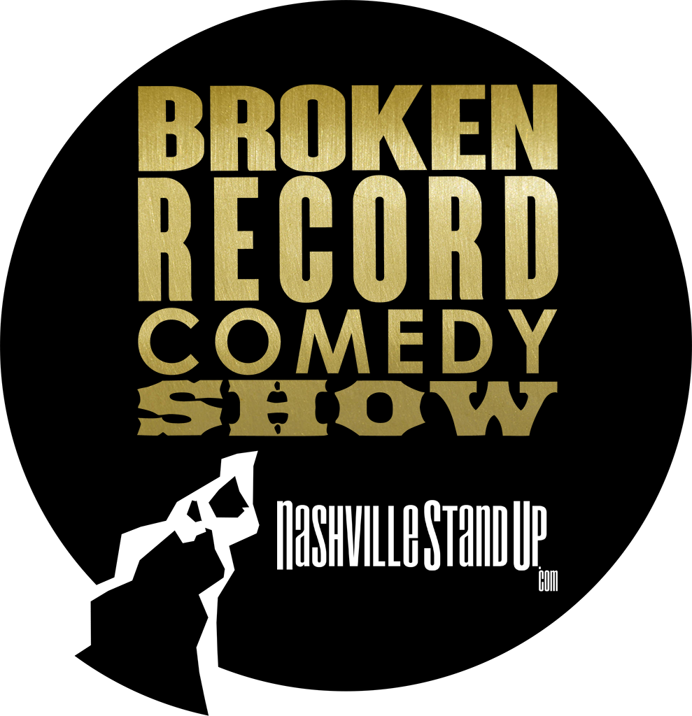 #BrokenRecordShow logo, no dates